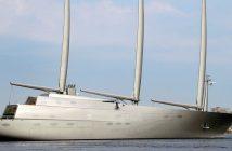 Sailing Yacht A - superjacht rosyjskiego miliardera