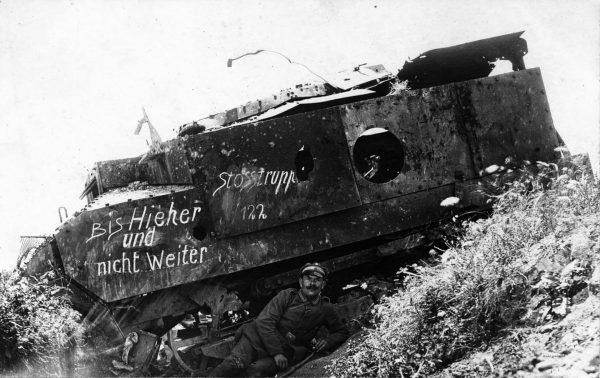 Zniszczony Schneider CA1