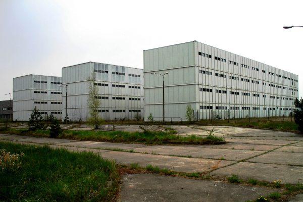 Pozostałości Elektrowni Jądrowej Żarnowiec