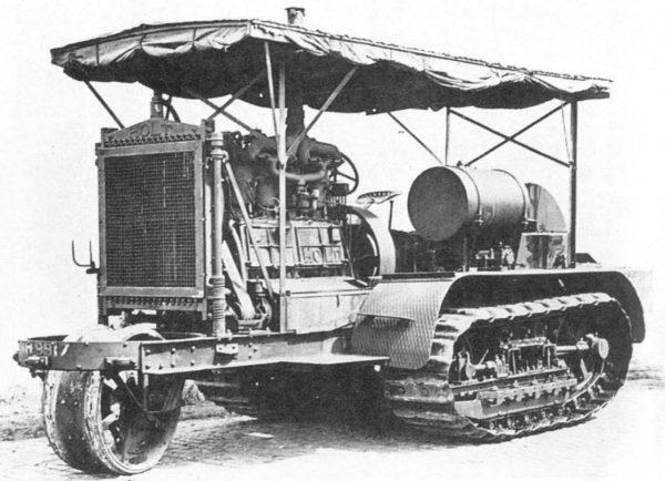 Ciągnik Holta