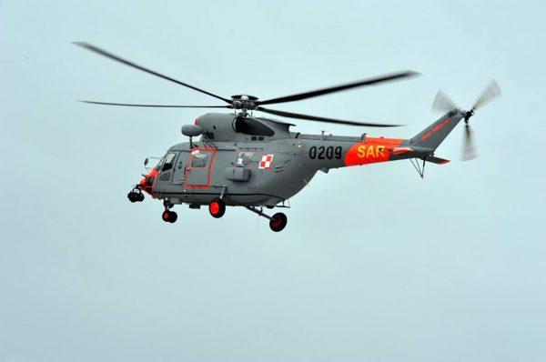 PZL W-3WA Sokół SAR (0209) (fot. Marian Kluczyński)