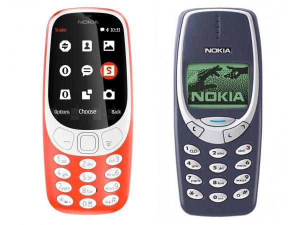 Nowa i stara Nokia 3310