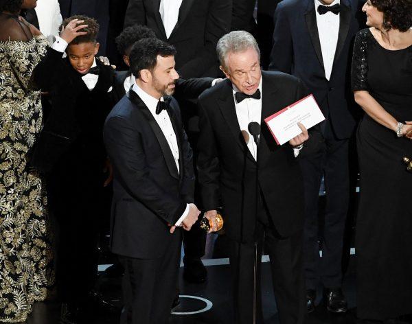 Przez jedną wpadkę tegoroczna edycja Oscarów zostanie bardzo dobrze zapamiętana (fot. web.de)