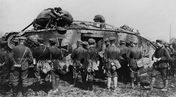 Zdobyty przez Niemców Mark IV