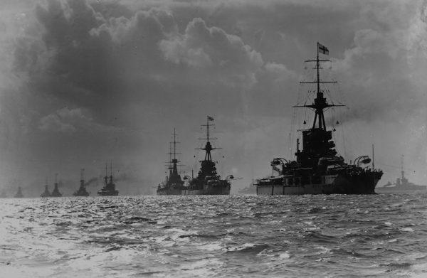 Pancerniki Royal Navy w 1914 roku
