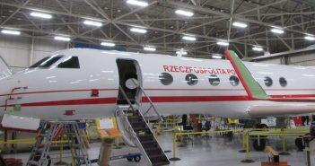 Gulfstream G550 w polskim malowaniu