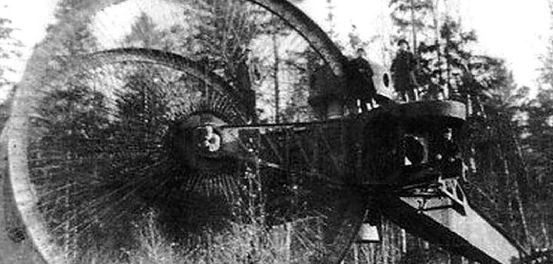 Car Tank - najdziwniejszy czołg I wojny światowej