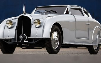 Avions Voisin C28 Aérosport (1935) - samochód w stylu Art Deco