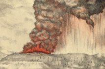 Erupcja wulkanu Krakatau (1883) - najgłośniejsza eksplozja w historii