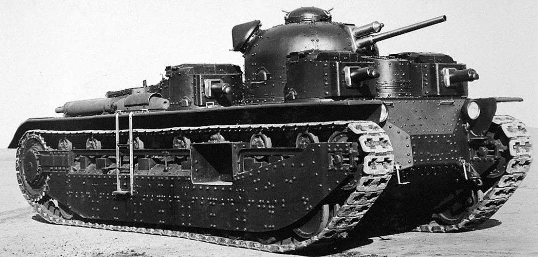 A1E1 Independent - eksperymentalny czołg wielowieżowy