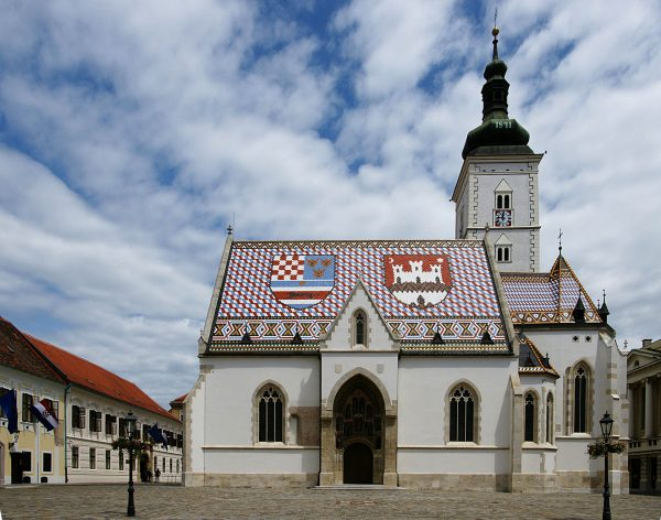 Kościół św. Marka, Zagrzeb (fot. Alexander Klink)
