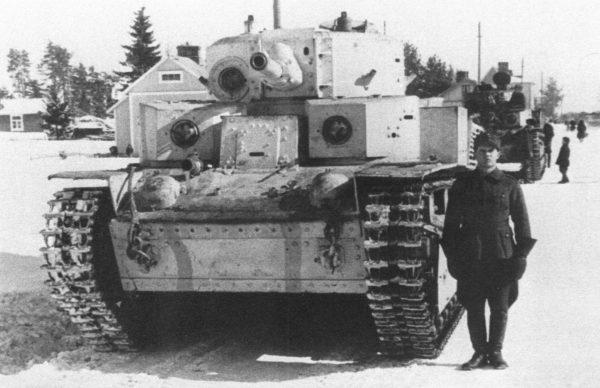 Radziecki czołg średni T-28