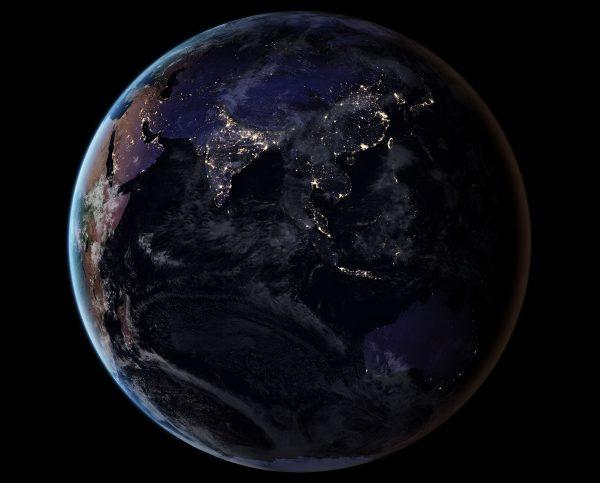 Azja i Australia (fot. NASA)