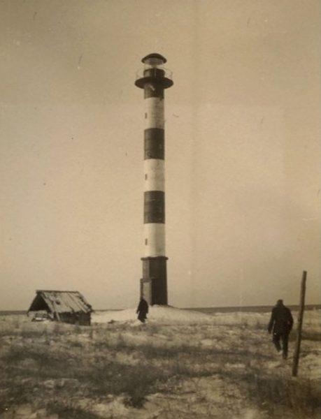Latarnia morska Kiipsaare w 1935 roku