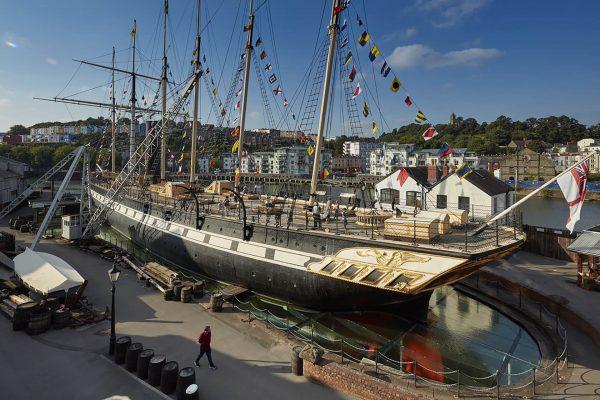 SS Great Britain współcześnie (fot. Brunel's SS Great Britain)