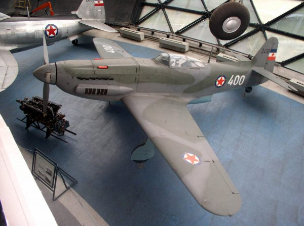 Ikarus S-49C (fot. Belgade Aviation Museum Photo Archive)