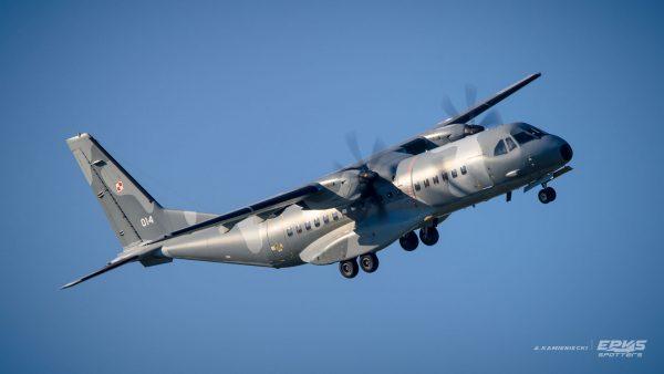 CASA C-295 (fot. Arkadiusz Kamieniecki/EPKS Spotters)