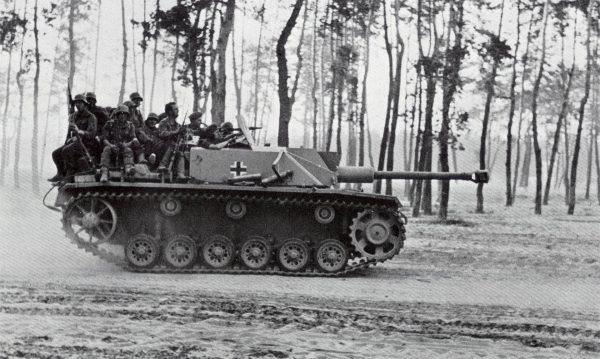Niemieckie działo pancerne Sturmgeshutz III