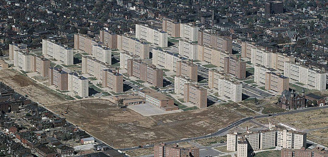 Pruitt–Igoe - nieudany amerykański projekt urbanistyczny
