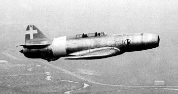Eksperymentalny samolot odrzutowy Caproni Campini N.1