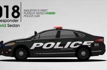 Amerykańskie radiowozy marki Ford przez lata - animacja