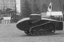 Nagayama Tank - japoński zdalnie sterowany czołg z 1929 roku - zdjęcie