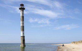 Opuszczona latarnia morska Kiipsaare w Estonii