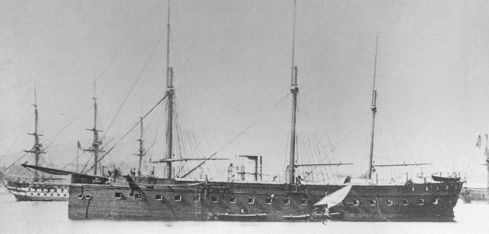 Gloire - pierwszy pełnomorski okręt pancerny