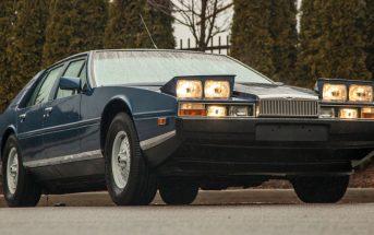Wyjątkowy Aston Martin Lagonda