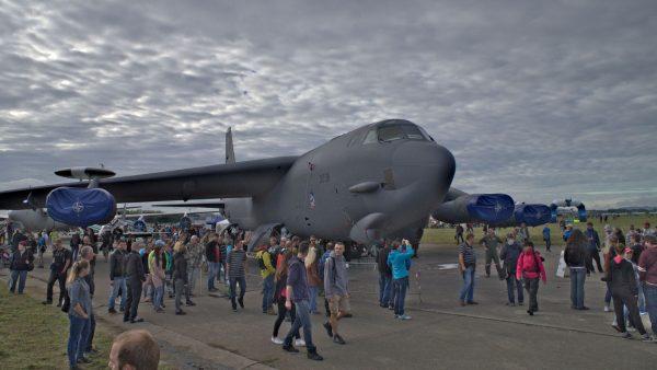 B-52H na Dniach NATO w czeskiej Ostrawie (fot. Łukasz Kuliberda)