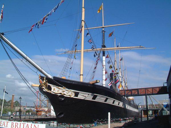 SS Great Britain współcześnie (fot. mattbuck/Wikimedia Commons)