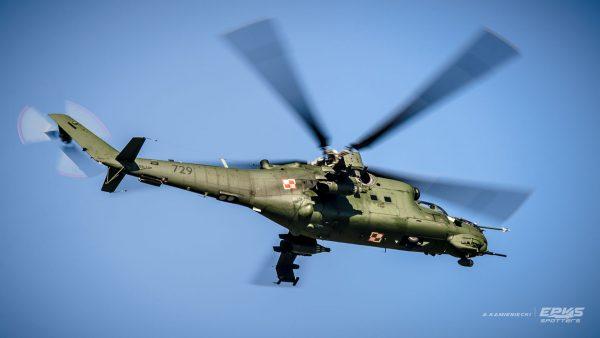 Mi-24 Hind (fot. Arkadiusz Kamieniecki/EPKS Spotters)