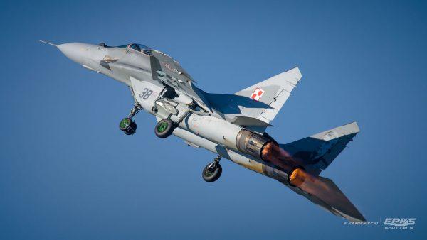 MiG-29 (fot. Arkadiusz Kamieniecki/EPKS Spotters)