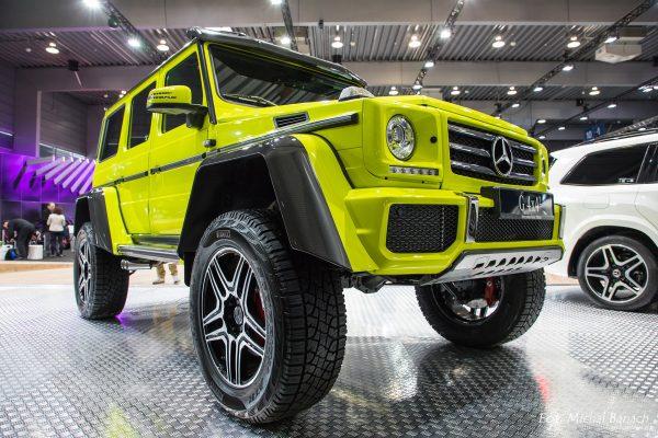 Mercedes Benz G 4x4 (fot. Michał Banach)