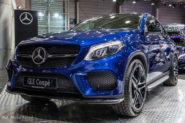 Mercedes Benz GLE Coupe (fot. Michał Banach)