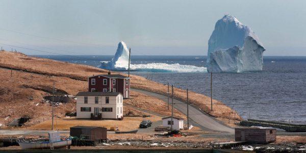 Góra lodowa niedaleko Ferryland w Nowej Fundlandii (fot. Paul Daly)