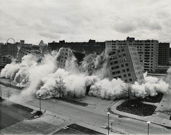 Wyburzanie osiedla Pruitt–Igoe w St. Louis
