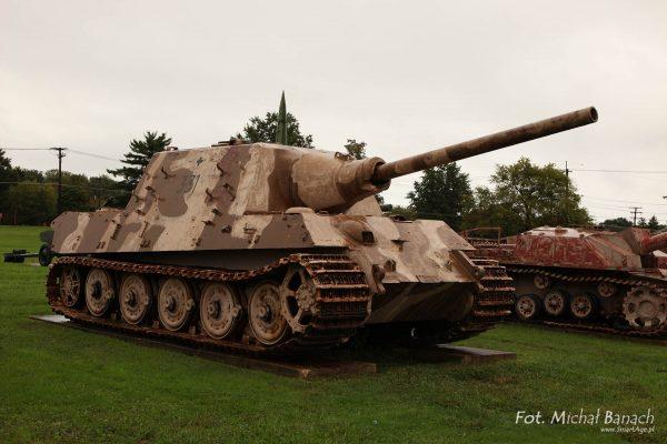 Jagdtiger jeszcze w Aberdeen w USA (fot. Michał Banach)