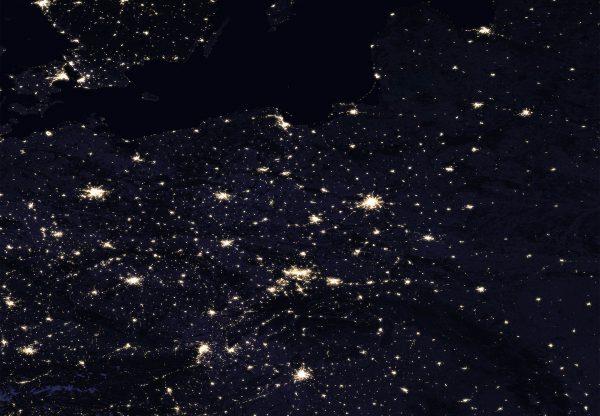 Polska (fot. NASA)