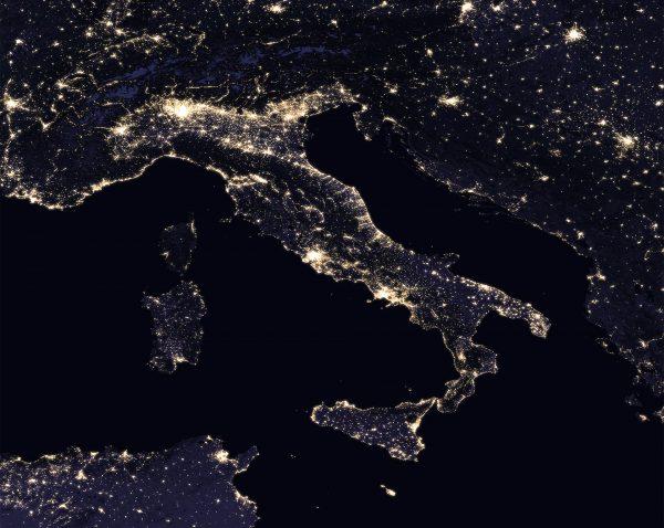 Włochy (fot. NASA)
