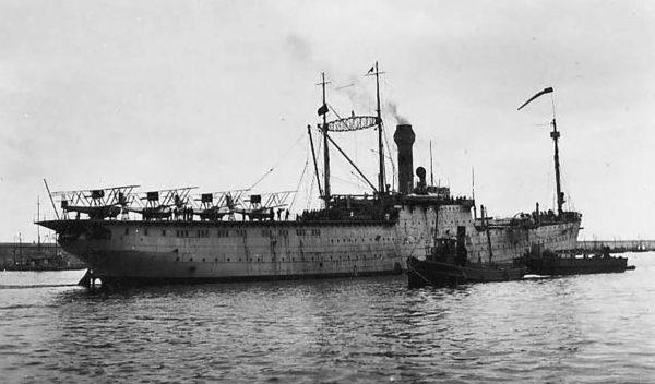 Transportowiec wodnosamolotów Dédalo