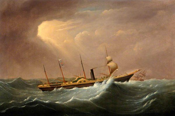 SS Great Western - pierwszy parowy transatlantyk
