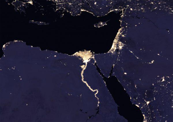 Egipt (fot. NASA)