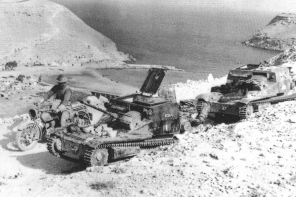 Tankietki były na początku II wojny światowej najliczniejszymi pojazdami pancernymi włoskiej armii