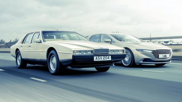 Stary i Nowy Aston Martin Lagonda