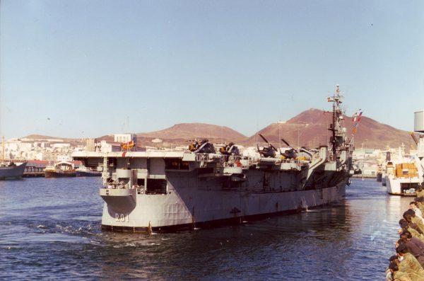 Lekki lotniskowiec Dédalo