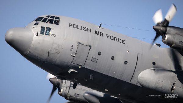 C-130 Hercules (fot. Arkadiusz Kamieniecki/EPKS Spotters)