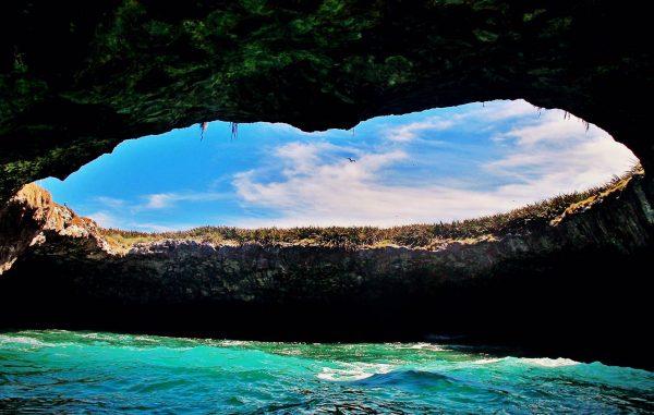 Ukryta plaża na Islas Marietas