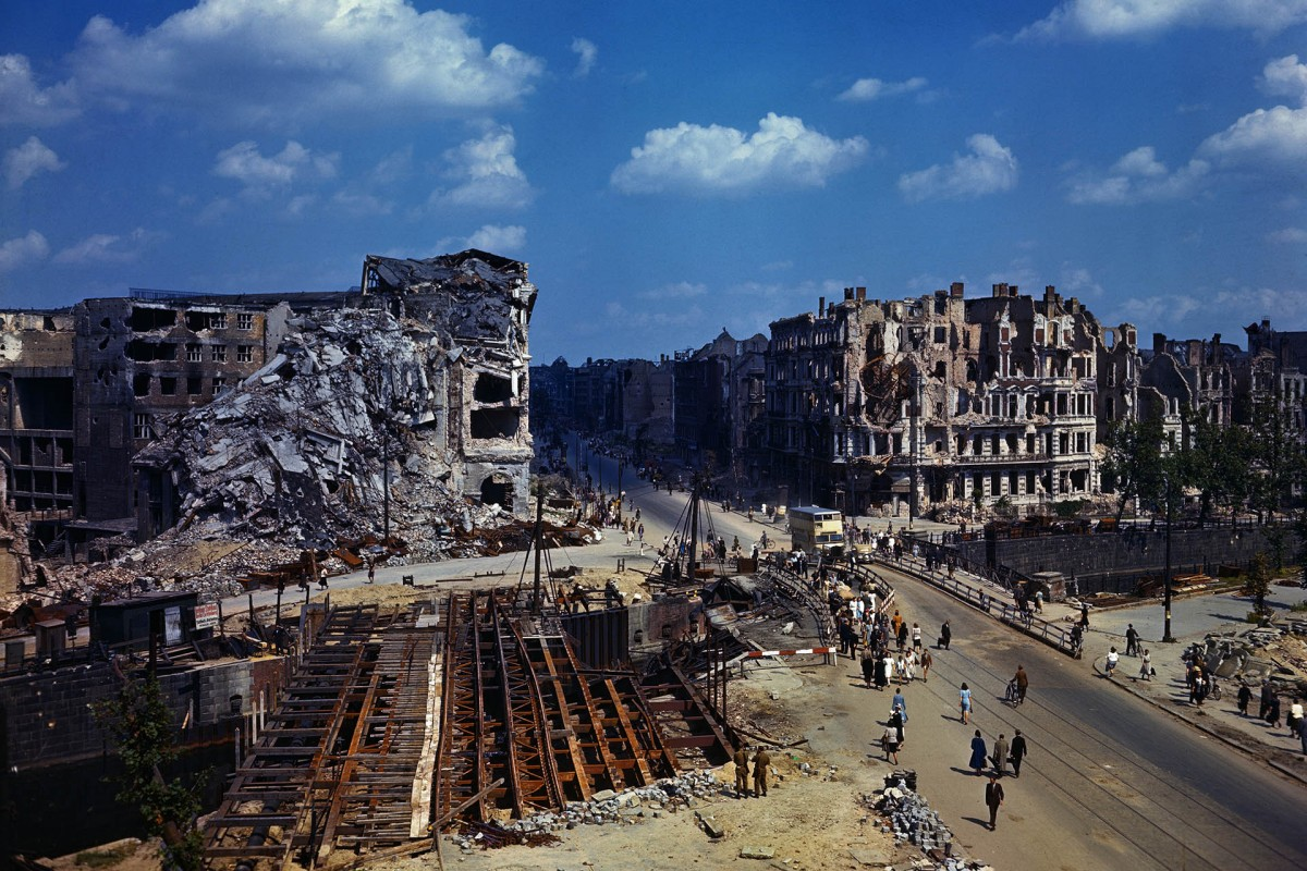 Berlin then and now: Photographer recreates photos taken as Soviet Pictures berlin after wwii