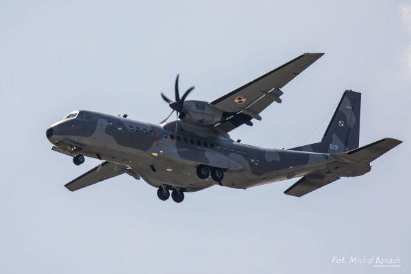 CASA C-295 (fot. Michał Banach)